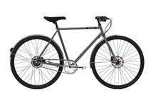 Creme Ristretto Solo Cityfiets Heren 8-speed grijs
